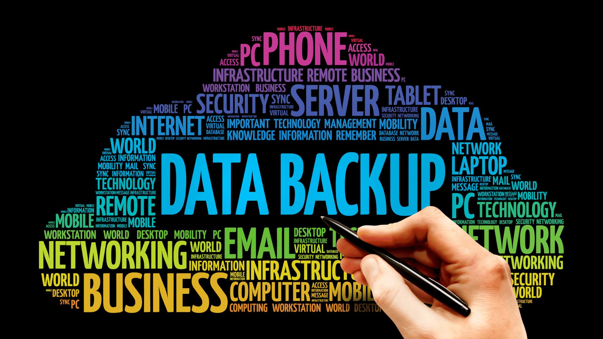 Data backup tag clpoud