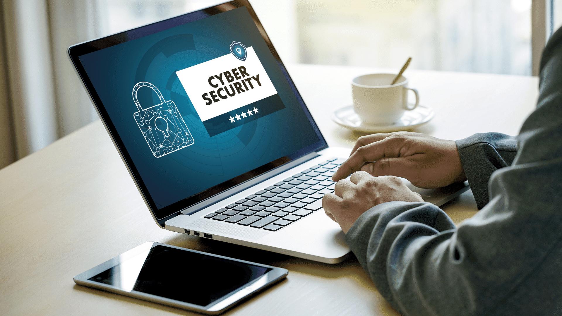 notebook protetto dagli attacchi informatici