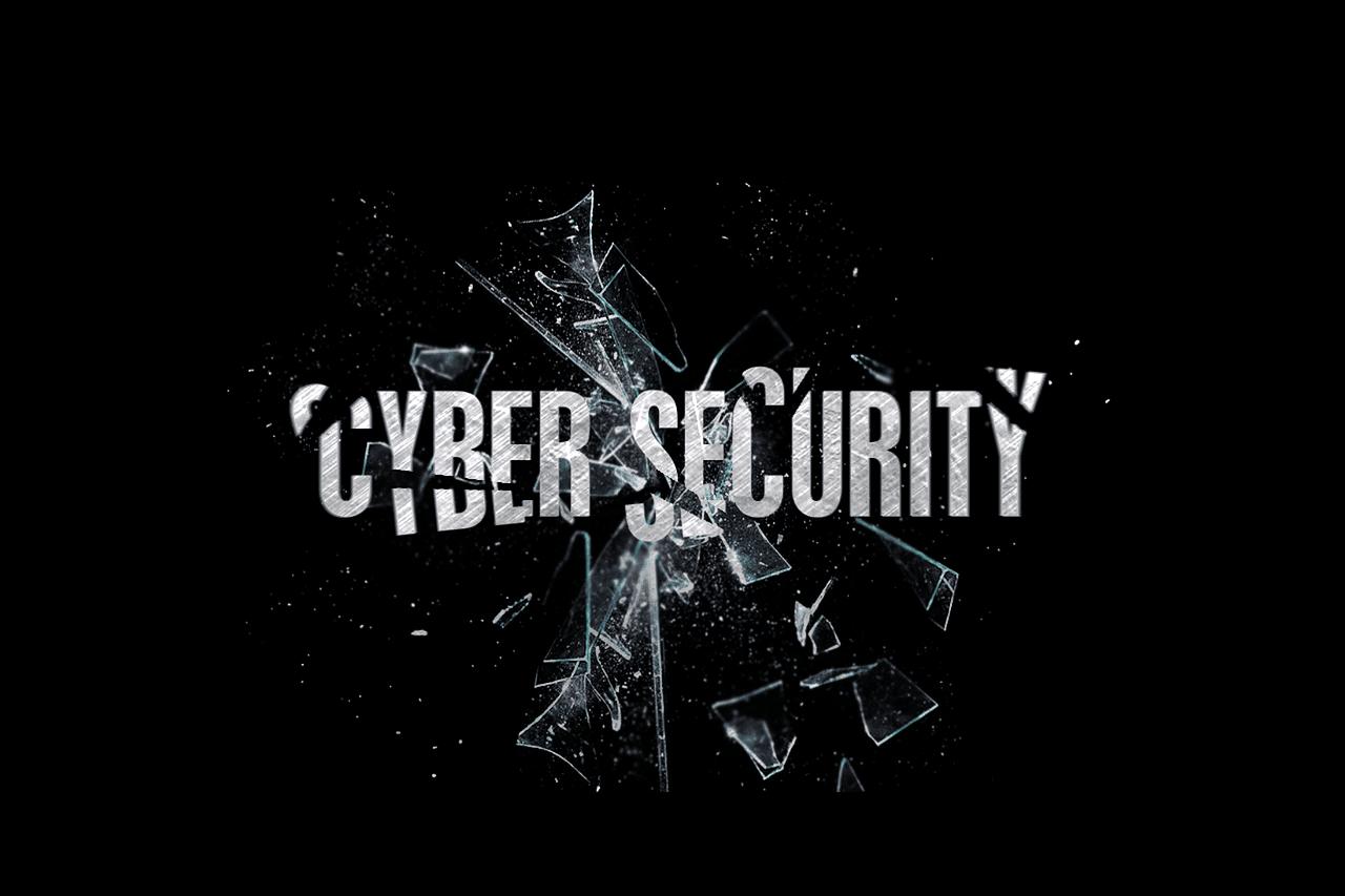 scritta cyber security